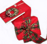 handmade soap gift present 2 packs red from Ireland mail order